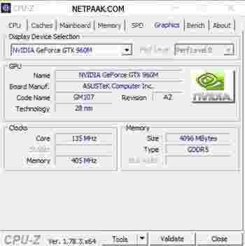 نرم افزار CPU Z