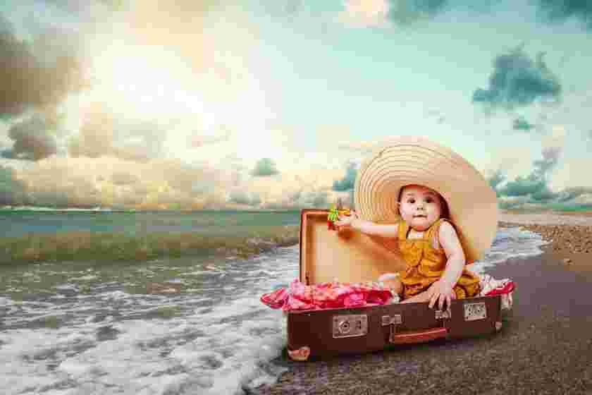 نکاتی درباره سفر با کودکان