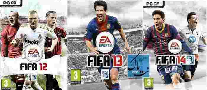 دانلود بازی فیفا ۲۰14,۲۰13,۲۰12 FIFA برای کامپیوتر نسخه کامل