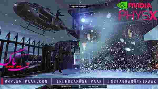 NVIDIA PhysX - انویدیا فیزیکس - اجرای بهتر بازی ها