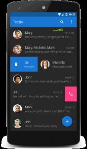 Textra SMS – اس ام اس + تکسترا اس ام