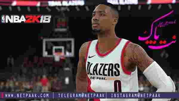 بازی NBA 2K18 - دانلود بازی بسکتبال ان بی ای 2018 - دانلود بازی NBA 2K18 برای PC