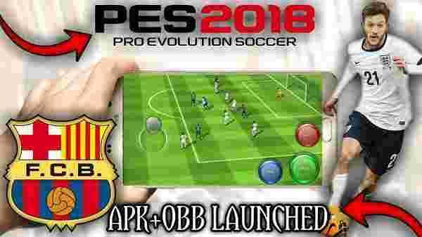 دانلود بازی Pes 2018 و Pes 2017 برای موبایل + اندروید + iOS + تست شده +Offline