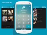 Video Locker Pro – برنامه رمز گذاری ویدیوها در اندروید + مخفی سازی فیلم