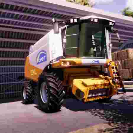 بازی سواری با ماشین های کشاورزی