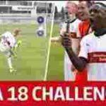 رکوردشکنی در چالش ضربه آزاد به سبک FIFA18 در بوندسلیگا + ویدیو کلیپ – نت پاک