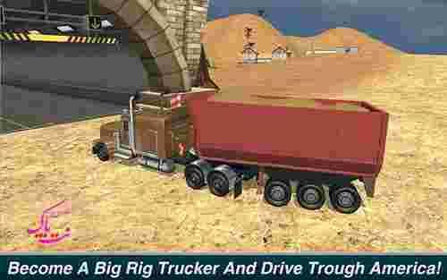 دانلود بازی Offroad Truck Driver Outback Hills نسخه ی پول بی نهایت