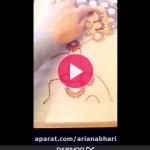 ویدئو کلیپ هنر دستی - منجو...