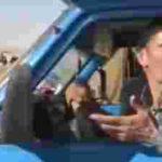 ویدئو کلیپ تودهنی راننده نیسان اردبیل به ضد انقلاب ها و آمدنیوزها