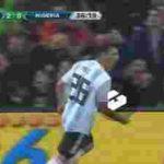ویدیو کلیپ خلاصه بازی آرژانتین 2_4 نیجریه