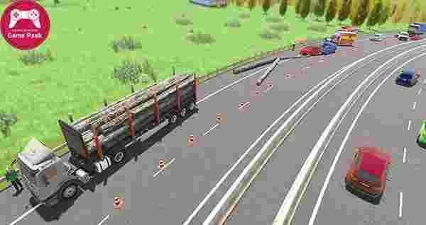 دانلود بازی رانندگی در بزرگ راه - دانلود بازی شبیه ساز ماشینی