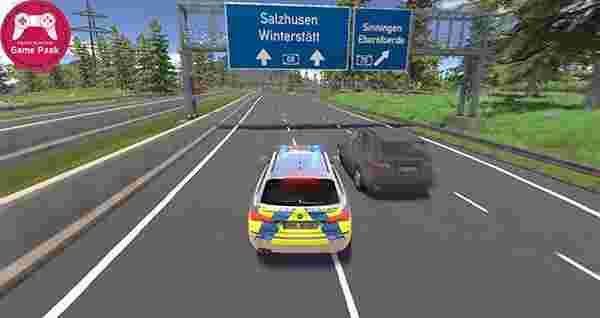 دانلود بازی ماشینی تعقیب و گریز جدید - دانلود بازی دارای ماشین پلیس