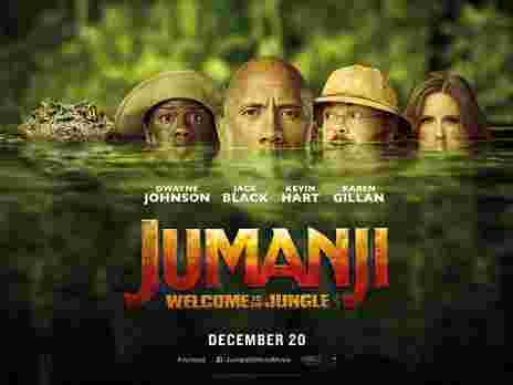 دانلود فیلم جدید Jumanji: Welcome to the Jungle 2017 با لینک مستقیم