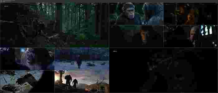 دانلود فیلمWar for the Planet of the Apes 2017 / جنگ برای سرزمین میمون هابادوبله فارسی