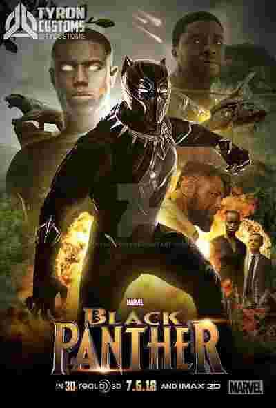 دانلود رایگان فیلمBlack Panther 2018/ دانلود دوبله فارسی فیلم پلنگ سیاه با کیفیتHD1080,720,480,4k