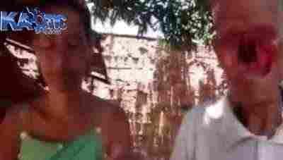 ویدئو کلیپ ازدواج مردی عجیب بدون صورت با یک زن جوان