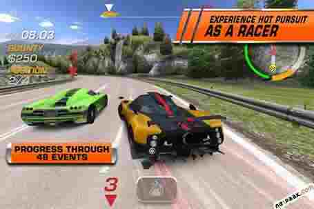 Need for Speed Hot Pursuit v2.0.22 بازی نید فور اسپید هات پرسویت + مود + IOS