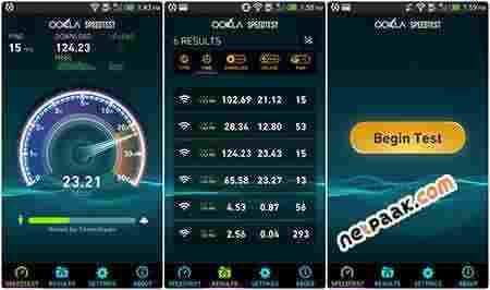 Speedtest by Ookla Full 3.2.44 – برنامه تست سرعت اینترنت اندروید + IOS