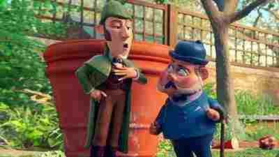 دانلود انیمیشن 2018 Sherlock Gnome -دانلود انیمیشن شرلوک نوم