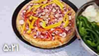 ویدئو کلیپ دستور العمل پیتزای ایتالیایی اصیل - طرز تهیه اصیل ترین پیترای ایتالیایی - بهترین دستور تهیه برای پیتزای خوشمزه و عالی - دوست داشتنی ترین دستور پیتزای ایتالیایی