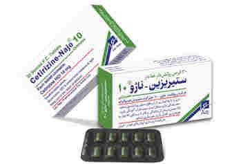 قرص ستیریزین + موارد مصرف و عوارض