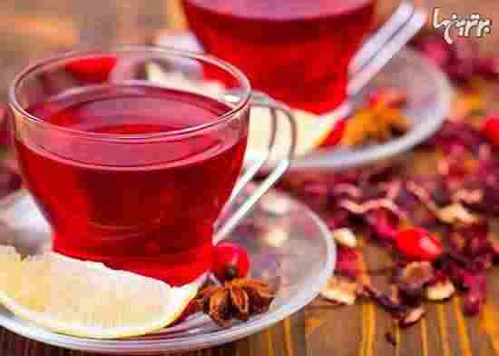 خواص چای گل بامیه + طب سنتی