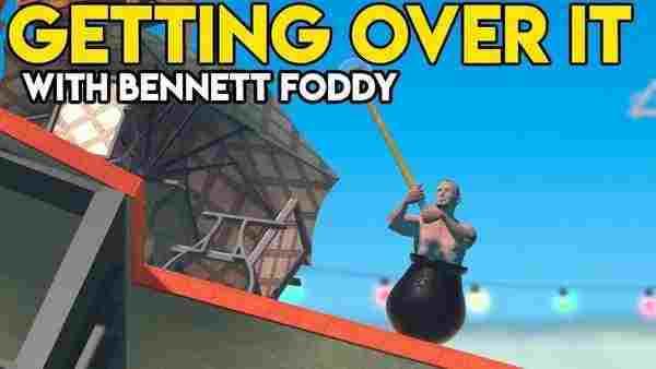 دانلود بازی Getting Over It with Bennett Foddy برای کامپیوتر- چکش بدست در دیگ دیزی