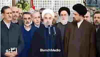 ویدئو کلیپ فیلم دیگری از واکنش ها به آمار دادن حسن روحانی