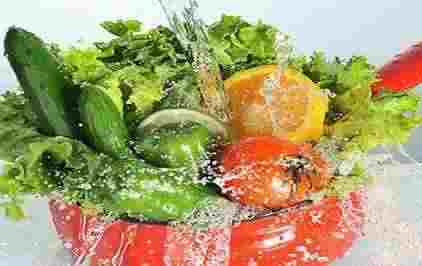نحوه شست و شوی صحیح سبزیجات