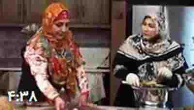"""ویدئو کلیپ آشپزی غذای مازندرانی :طرز تهیه """" کئی کشک"""" - طرز تهیه غذای سنتی - دستور قدیمی تهیه کئی کشک"""