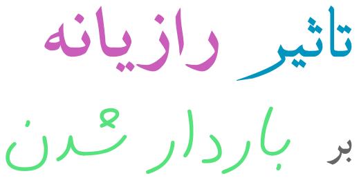 رازیانه و بارداری در طب اسلامی