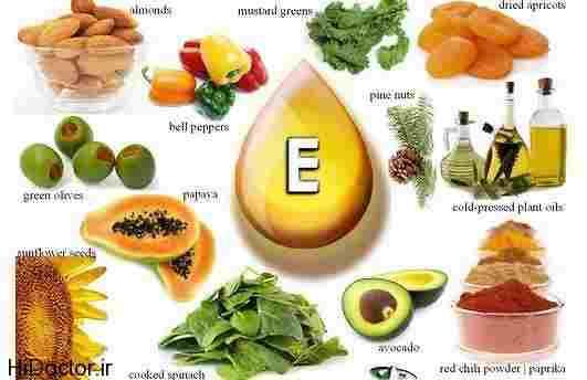 ویتامین E چیست + خواص