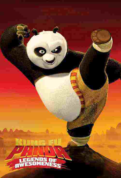 دانلود انیمیشن سریالی پاندای کونگفو کار + دوبله فارسی Kung Fu Panda + تمام قسمت ها