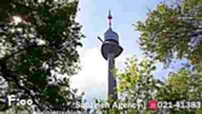 کلیپ برج دانوب بلندترین برج کشور اتریش + ویدئو