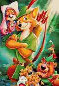 دانلود انیمیشن رابین هود + Robin Hood 1973 + دوبله فارسی