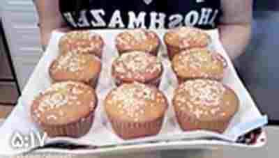 کلیپ طرز تهیه کیک یزدی + ویدئو
