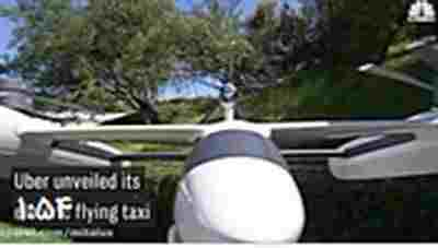 کلیپ تاکسی پرنده اوبر + ویدئو
