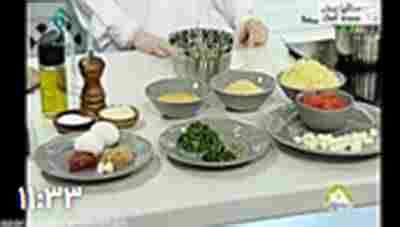 کلیپ(کوفته برنجی ایتالیایی) و سس مارینارا - غذای جدید ایتالیایی + ویدئو