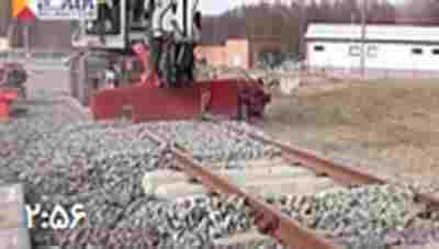 کلیپ ابزار صنعتی جالب و کاربردی که ریل های راه آهن را ترمیم میکند! + ویدئو