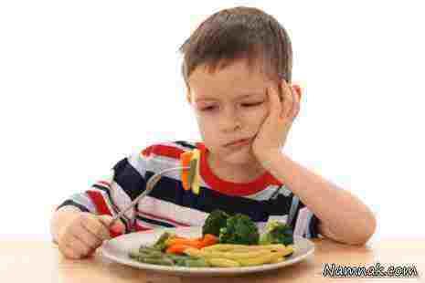 مشکل بی اشتهایی کودکان + عوامل تاثیر گذار