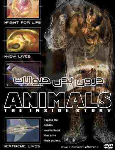 دانلود مستند درون بدن حیوانات Animals The Inside Story + دوبله فارسی