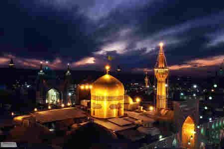 دانلود فیلم خام از حرم امام رضا (ع) + فیلم هوایی + کیفیت عالی