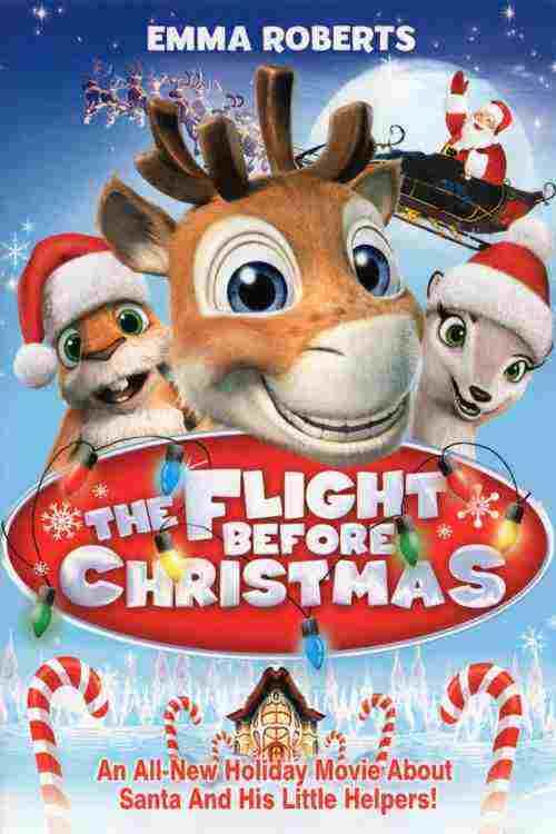 دانلود انیمیشن نیکو گوزن پرنده The Flight Before Christmas 2008 + دوبله فارسی