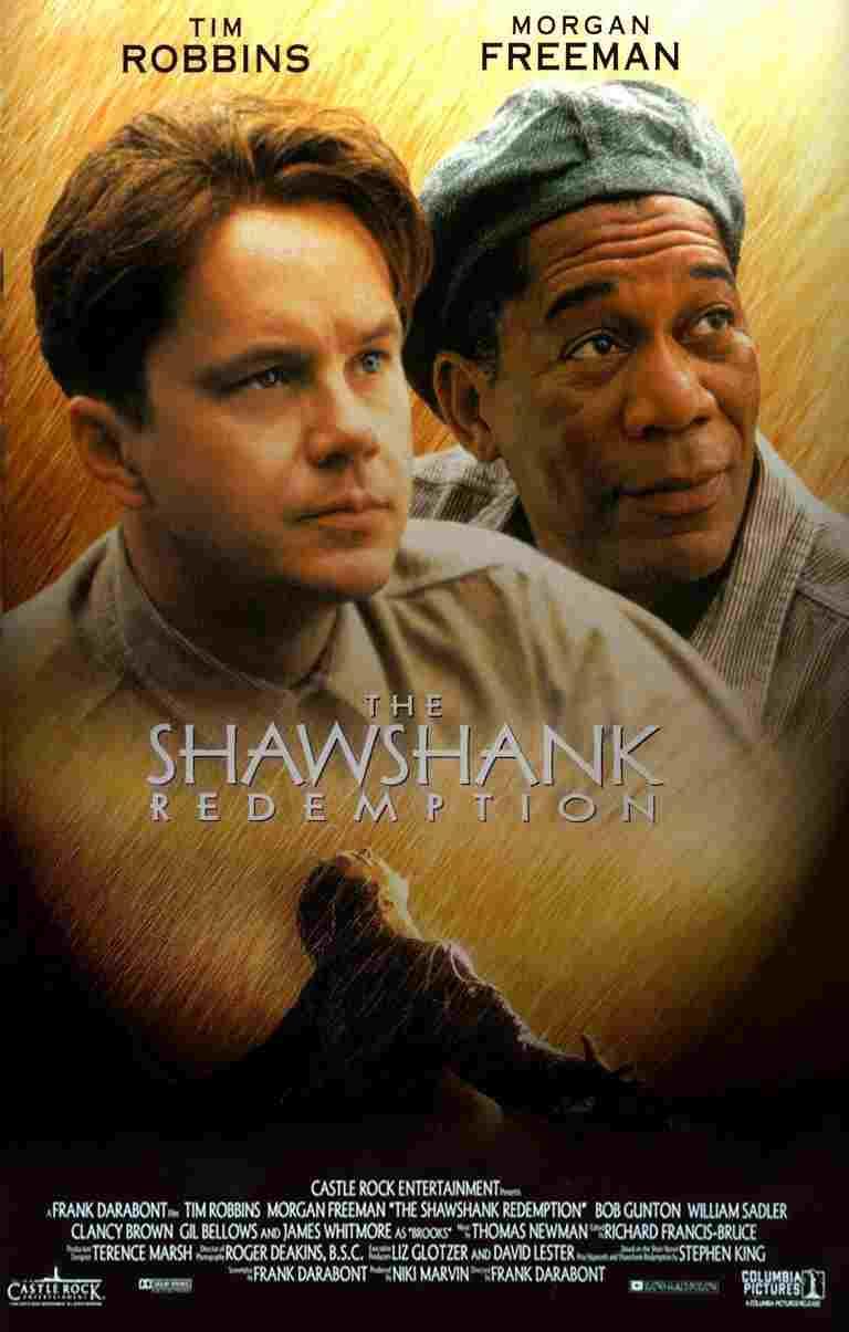 دانلود فیلم The Shawshank Redemption 1994 رستگاری در شاوشنک دوبله فارسی + 720 ، 1080 ، Bluray Full HD