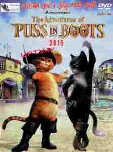 دانلود انیمیشن گربه چکمه پوش و غول مهربان 2015 + دوبله فارسی