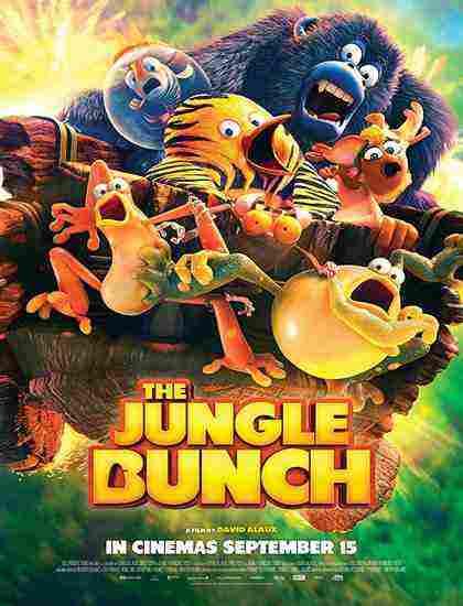 انیمیشن سینمایی The Jungle Bunch 2017دوبله فارسی کارتون سینمایی پنگوئن ببری 2017