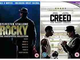 کالکشن فیلم راکیRocky مجموعه فیلم ها 1976 , 1979 , 1982 , 1985 , 1990 , 2006 , 2018RockyCollectionسیلوستر استالونه