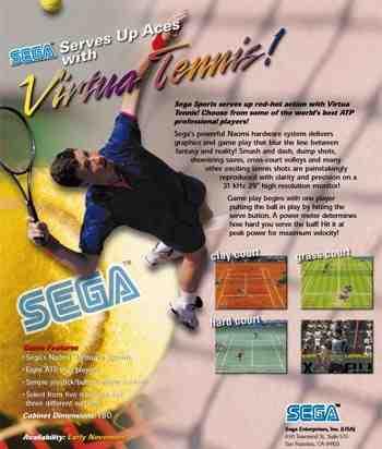 دانلود بازی کامپیوتر- دانلود بازی Virtua Tennis 1 برای pc دانلود Virtua Tennis 1 دانلود بازی تنیس