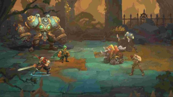 Battle Chasers Nightwar screenshots 01 large 600x338 - دانلود بازی Battle Chasers Nightwar + نقش افرینی جدید - نسخه CODEX + تریلر